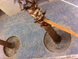 Çanakkale granit küptaş doğal taş uygulama ekibi