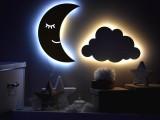Ay dede duvar aydınlatması renk seçeneği mevcuttur
