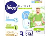 Sleepy 3 Numara Bez 34 Pcs