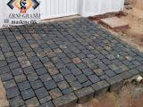 İzmir Granit küptaş kırma bazalt küp taş uygulama ekibi Halil